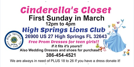 "Wedding/Prom Expo"" Free Prom Dresses"" Annual Lions Club Event tickets"