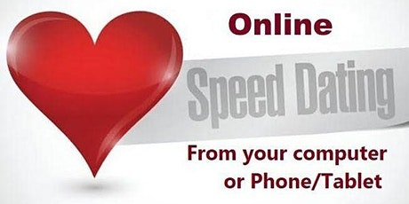 Online SPEED DATING 30s & 40s tickets