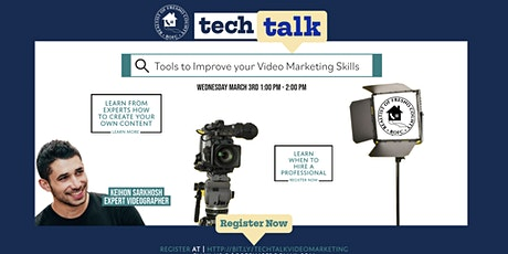 Tools to Improve your Video Marketing Skills tickets