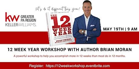 12 Week Year Workshop with author Brian Moran! tickets