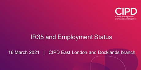IR35 and Employment Status tickets