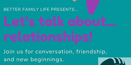 Let's Talk About It tickets