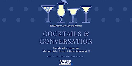 Fundraiser for Genesis Ramos: Cocktails and Conversation tickets