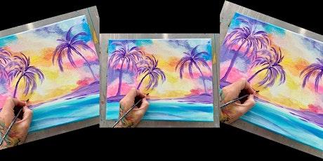 2 for 1!Purple Palm Trees: Glen Burnie, Sidelines w/ Artist Katie Detrich! tickets
