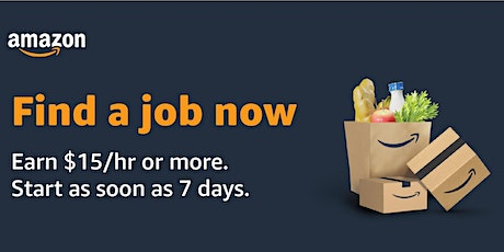 Amazon is Hiring! Virtual Info Session - WI Warehouse Jobs 03-16-2021 tickets