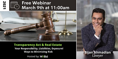 FREE WEBINAR: The Transparency Act & Real Estate tickets
