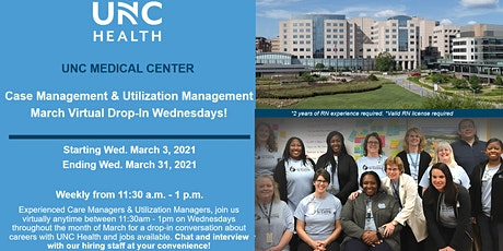 Virtual RN Drop-in Career Event - Care Management & Utilization Management tickets