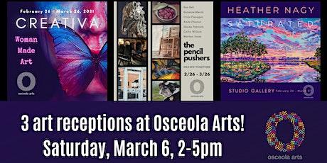 Osceola Arts celebrates Women's History Month with 3 art receptions! tickets