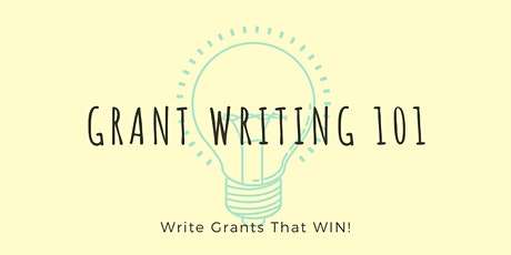 Copy of Grant Writing 101 tickets