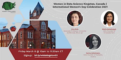 2021 Women in Data Science Kingston, Canada Mini-Conference tickets