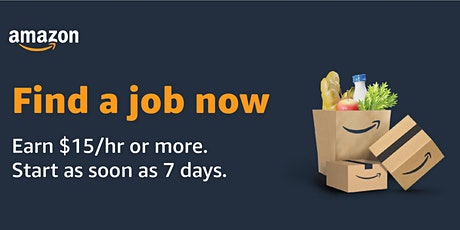 Amazon is Hiring! Virtual Info Session - WI Warehouse Jobs 03-23-2021 tickets
