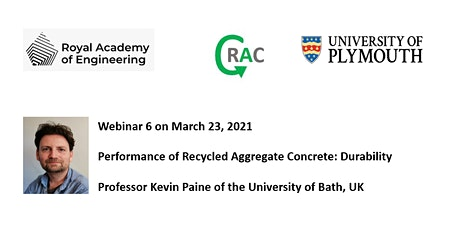 Performance of Recycled Aggregate Concrete: Durability tickets