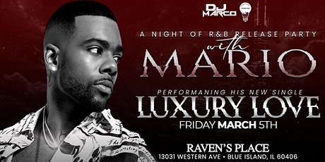 A Night of R&B...Release Party With MARIO tickets