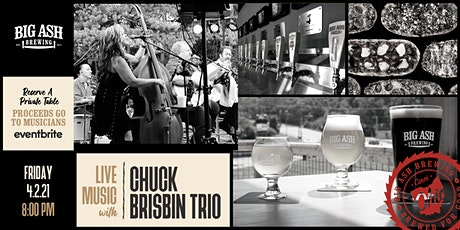 Chuck Brisbin Trio Live @Big Ash! tickets
