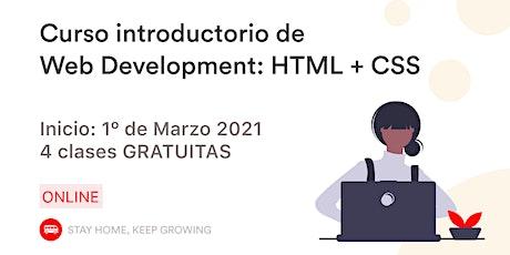 Introducción al Desarrollo Web boletos