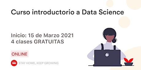 Introducción a Data Science entradas