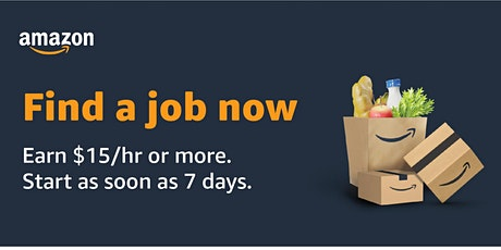 Amazon is Hiring! Virtual Info Session - WI Warehouse Jobs 03-30-2021 tickets