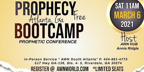 Free Prophetic Training (GA) tickets