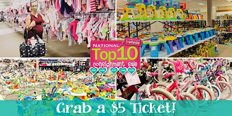 Kids EveryWEAR Consignment's $5 Shop before the Public Presale April 2021 tickets