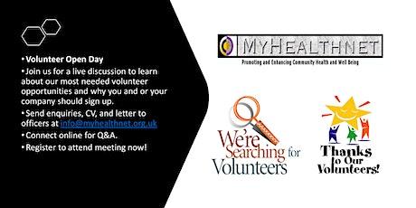 Volunteer Open Day tickets