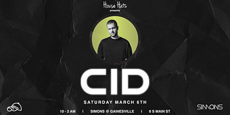 House Hats Presents: CID @ Simon's tickets