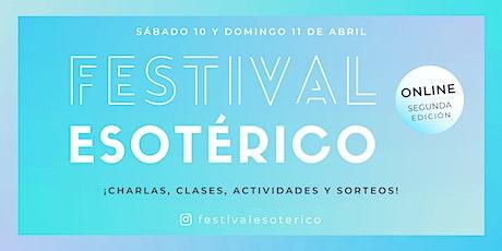 Festival Esotérico 2021 - Segunda Edición entradas