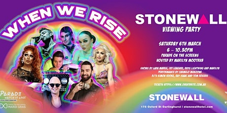 Stonewall Mardi Gras Viewing Party tickets
