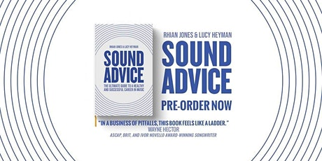 Sound Advice Book Launch tickets
