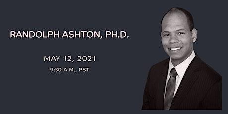 Breaking News in Stem Cells, Randolph Ashton, PhD tickets