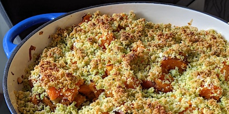 Cooking Skillshare : Sweet Potato & Macadamia Nut Crumble (Savoury Twist) tickets