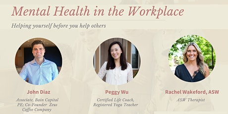 Mental Health in the Workplace: Professional Self-care (3-part series) tickets