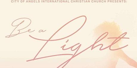 """Women's Day 2021 """"Be A Light"""" tickets"""