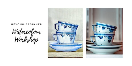 Teacups - Beyond Beginner Watercolour Workshop [ONLINE] tickets