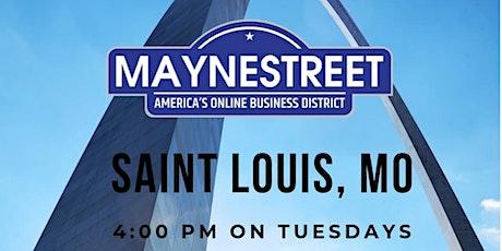 STL Business Networking - Online Maynestreet Mixer tickets