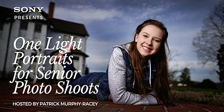 One Light Portraits for Senior Photo Shoots w/ Patrick Murphy-Racey tickets