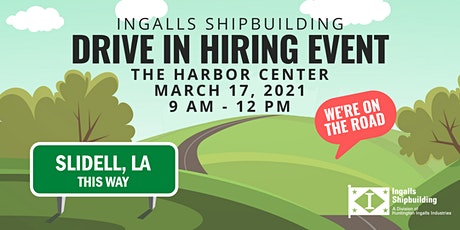 Ingalls Shipbuilding Drive-In Hiring Event tickets