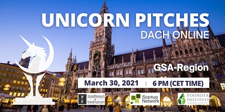Unicorn Pitch GSA (Germany, Switzerland, Austria) tickets