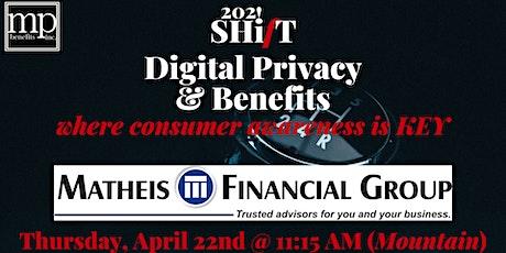 Digital Privacy SHifT tickets