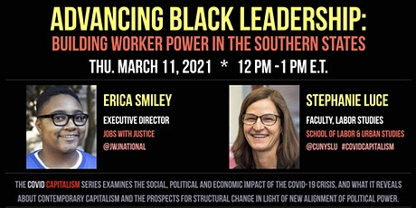 ADVANCING BLACK LEADERSHIP: Building Worker Power in the Southern States tickets