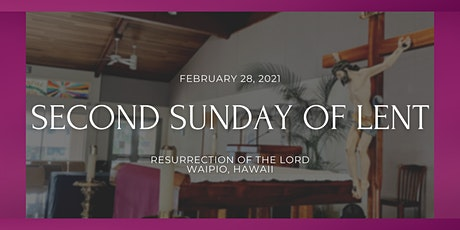 2nd Sunday of Lent (6:00 PM) tickets