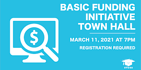 Basic Funding Initiative Town Hall tickets
