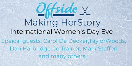 Offside Making HerStory, a special International Women's Day Gathering tickets