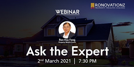 Got Questions about property investment? ASK THE EXPERT! tickets