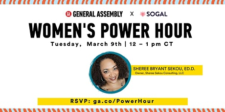 SoGal Houston| Women's Power Hour |  Build Your Productivity Tools tickets