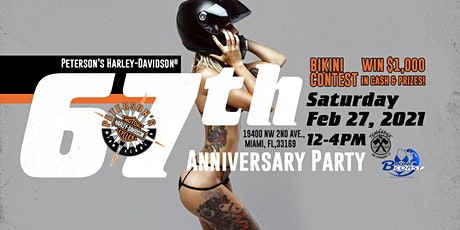 67th Anniversary Party at Peterson's Harley-Davidson® of Miami tickets
