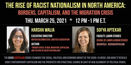 THE RISE OF RACIST NATIONALISM IN NORTH AMERICA tickets