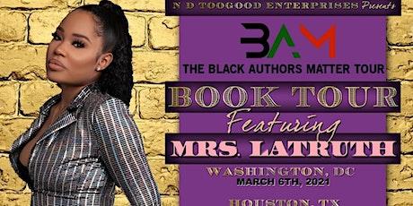 The Black Authors Matter Tour D.C. tickets