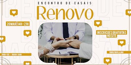 ENCONTRO DE CASAIS ingressos