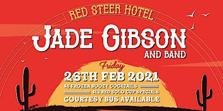 Jade Gibson Band @ The Red Steer tickets