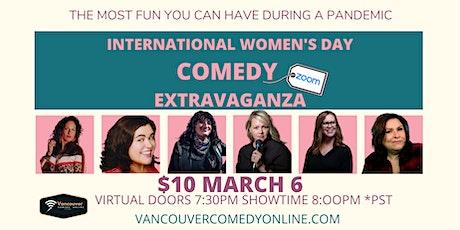 International Women's Day Comedy Extravaganza tickets